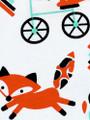 Fox Print Bib