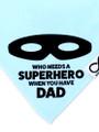 Mum/Dad Superhero Personalised  Bib