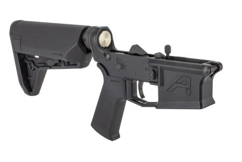Aero Precision Complete M4E1 Lower - Magpul SL-S - Black