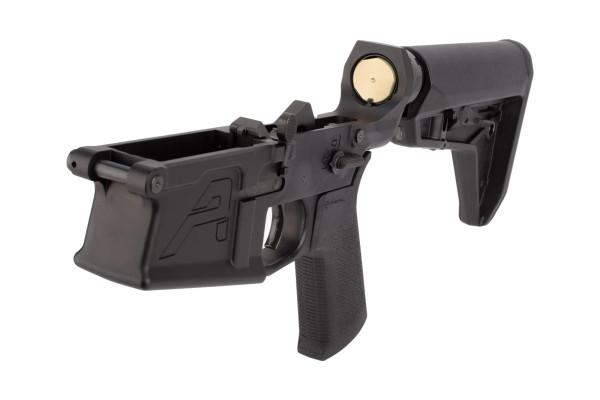 Aero Precision M5 Complete Lower Receiver - MOE SL Grip & SL Carbine Stock - Black