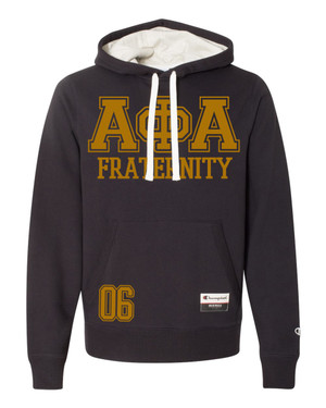 Deference Clothing® compatible with Alpha Phi Alpha Clothing® Chapter 13