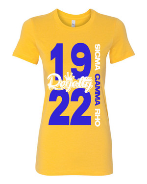 Deference Clothing® compatible with Sigma Gamma Rho Clothing® Chapter 26