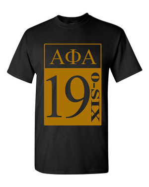 Deference Clothing® compatible with Alpha Phi Alpha Clothing® Chapter 27-19-Year