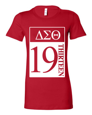 Deference Clothing® compatible with Delta Sigma Theta Clothing® Chapter 27-19-Year