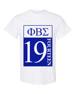 Deference Clothing® compatible with Phi Beta Sigma Clothing® Chapter 27-19-Year