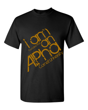 Deference Clothing® compatible with Alpha Phi Alpha Clothing® Chapter 30-Who Am I