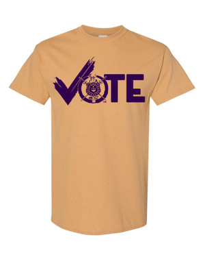 Deference Clothing® compatible with Omega Psi Phi Clothing® Chapter 31 Vote