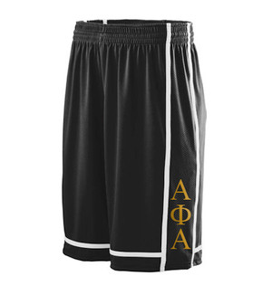 Deference Clothing® compatible with Alpha Phi Alpha Clothing® Chapter 32 Basketball Shorts