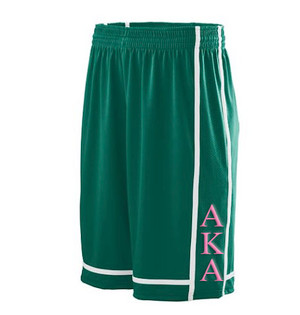 Deference Clothing® compatible with Alpha Kappa Alpha Clothing® Chapter 32 Basketball Shorts