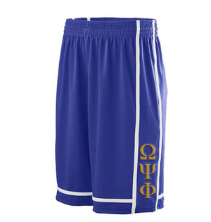 Deference Clothing® compatible with Omega Psi Phi Clothing® Chapter 32 Basketball Shorts