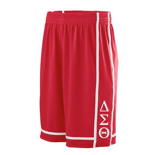 Deference Clothing® compatible with Delta Sigma Theta Clothing® Chapter 32 Basketball Shorts