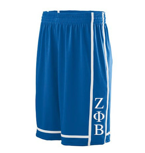 Deference Clothing® compatible with Zeta Phi Beta Clothing® Chapter 32 Basketball Shorts