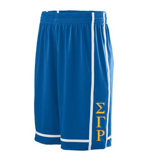 Deference Clothing® compatible with Sigma Gamma Rho Clothing® Chapter 32 Basketball Shorts