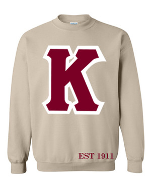 Deference Clothing® compatible with Kappa Alpha Psi Clothing® Chapter 37 Chipmunk Sweatshirt