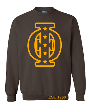 Deference Clothing® compatible with Iota Phi Theta Clothing® Chapter 37 Chipmunk Sweatshirt