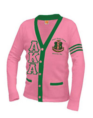 Deference Clothing® compatible with Alpha Kappa Alpha Clothing® Chapter 38 Varsity Cardigan
