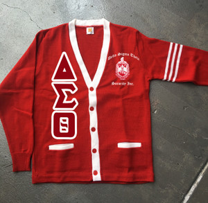 Deference Clothing® compatible with Delta Sigma Theta Clothing® Chapter 38 Varsity Cardigan