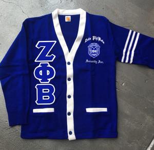Deference Clothing® compatible with Zeta Phi Beta Clothing® Chapter 38 Varsity Cardigan