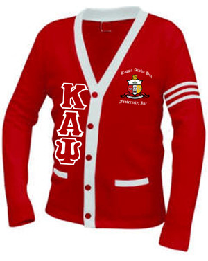 Deference Clothing® compatible with Kappa Alpha Psi Clothing® Chapter 38 Varsity Cardigan