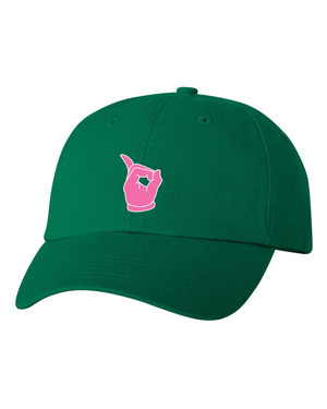 Deference Clothing® compatible with Alpha Kappa Alpha Clothing® Chapter 39  Dad Hat Mickey
