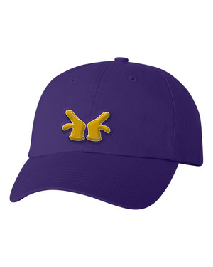 Deference Clothing® compatible with Omega Psi Phi Clothing® Chapter 39 Dad Hat Mickey