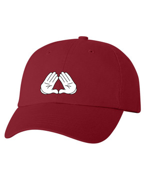 Deference Clothing® compatible with Delta Sigma Theta Clothing® Chapter 39 Dad Hat Mickey