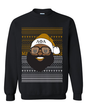 Copy of Deference Clothing® compatible with Alpha Phi Alpha Clothing® Chapter 40 Ugly X-Mas Sweatshirt