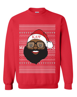 Deference Clothing® compatible with Kappa Alpha Psi Clothing® Chapter 40 Ugly X-Mas Sweatshirt