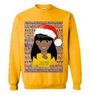 Deference Clothing® compatible with Sigma Gamma Rho Clothing® Chapter 40 Ugly X-Mas