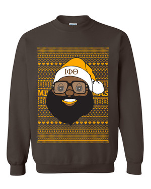Deference Clothing® compatible with Iota Phi Theta Clothing® Chapter 40 Ugly X-Mas Sweatshirt
