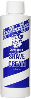 Campbell's Liquid Shave Cream -  8oz