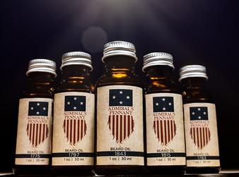 Admiral's Pennant Beard Oil