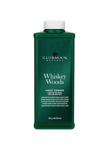 Clubman Finest Powder Whiskey Woods, 9oz