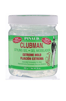 Clubman Pinaud Extreme Hold Styling Gel, 16oz