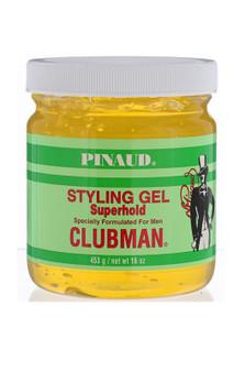 Clubman Pinaud Superhold Styling Gel 16oz