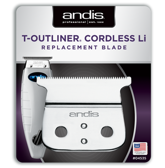 Andis Cordless T-Outliner Li Replacement T-Blade - Carbon Steel