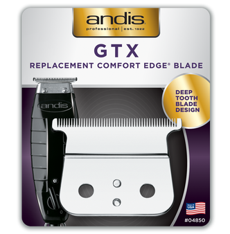 Andis GTX Deep Tooth T-Outliner Replacement Blade - Carbon Steel