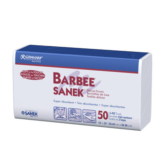 BARBEE® Deluxe 3-Ply White #1625 - Case