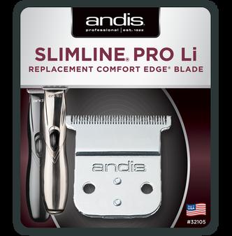 Andis Slimline Pro Li Trimmer Replacement Blade Set - Carbon Steel
