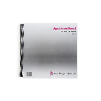 Appointment Record Book (6 Columns)