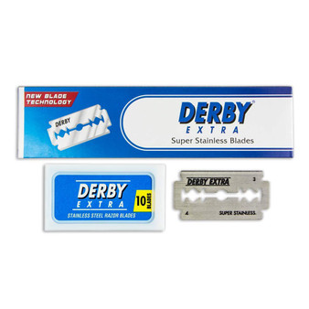 Derby Extra Double Edge Blade - 10ct