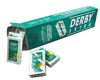 Derby Extra Double Edge Blade - 5ct