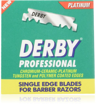 Derby Professional Single Edge Razor Blades - 100ct