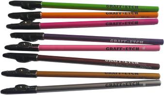 Graff-Etch Neon 8pk Pencil Set