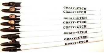 Graff-Etch White 8pk Pencil Set
