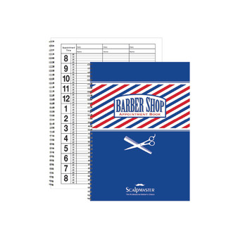 Scalpmaster Barber Appointment Book