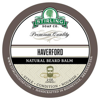 Stirling Beard Balm - Haverford
