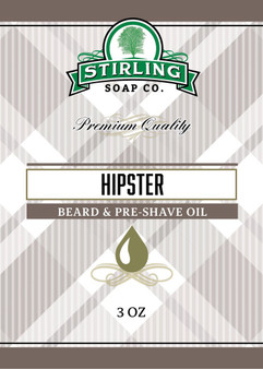 Stirling Beard/Pre-Shave Oil - Hipster