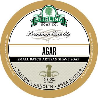 Stirling Shave Soap - Agar