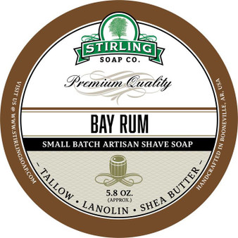 Stirling Shave Soap - Bay Rum